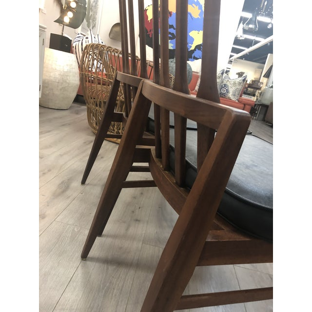 Black Pair of Harvey Probber Chairs For Sale - Image 8 of 11