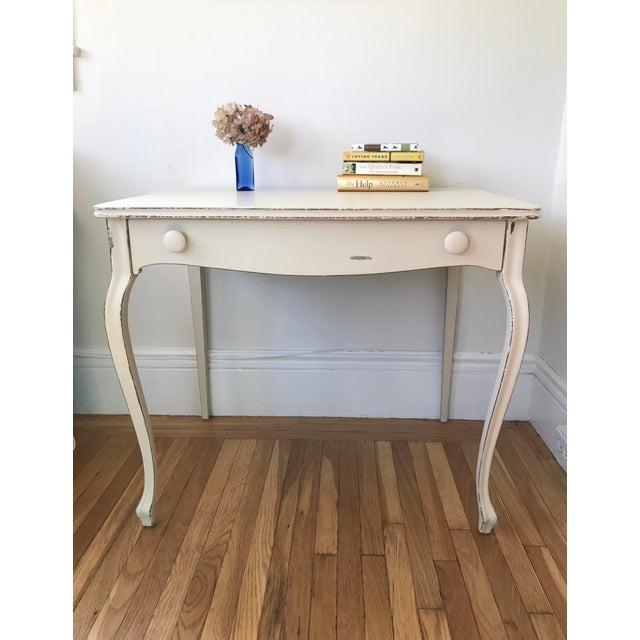 Queen Anne Vintage Berkey & Gay Writing Desk For Sale - Image 3 of 11