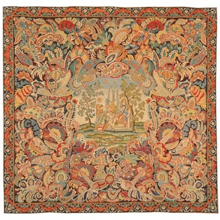 Antique 18th Century, French Needlework Tapestry For Sale