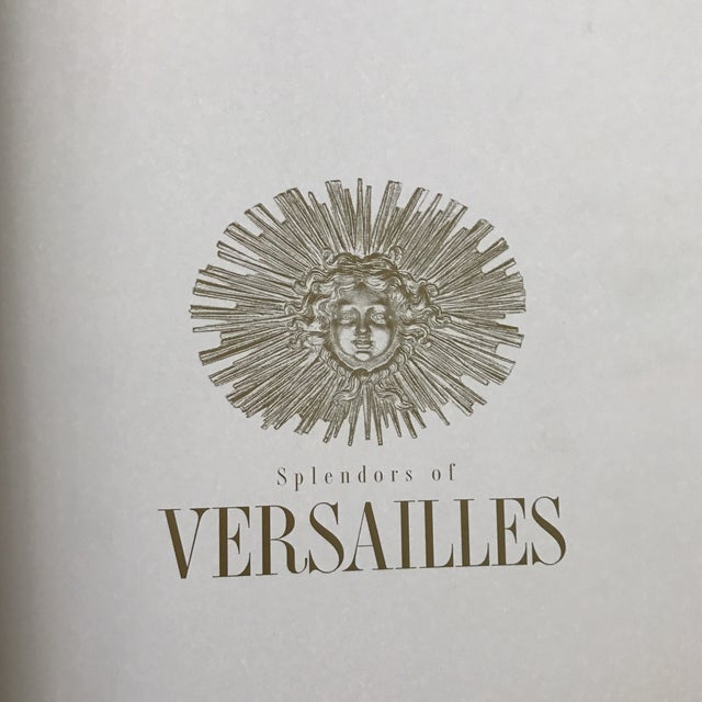 French 'Splendours of Versailles' Hardcover Book For Sale - Image 3 of 11