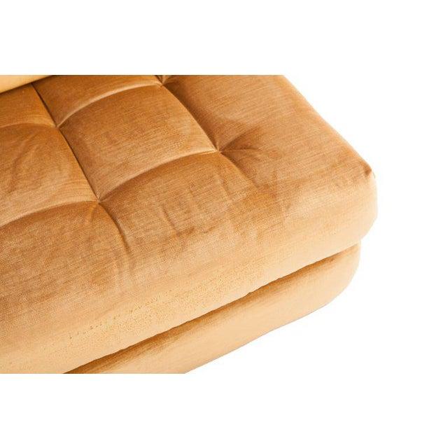 Mah Jong First Edition Modular Sofa in Gold Velvet by Roche Bobois For Sale - Image 11 of 13