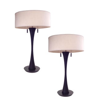 Black Danish Table Lamps For Sale