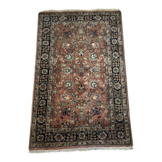 Hand Knotted 100% Wool Pile Rug From India For Sale