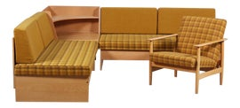 Image of Yellow Sectionals