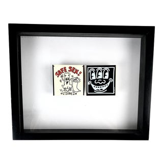 Keith Haring - Two Condom Cases 1987 For Sale