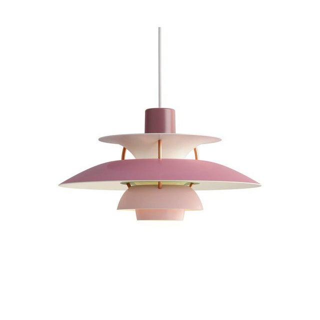 Poul Henningsen Poul Henningsen PH5 Mini Copper Pendant for Louis Poulsen For Sale - Image 4 of 10