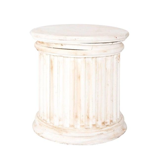 Fluted Column Pedestal For Sale