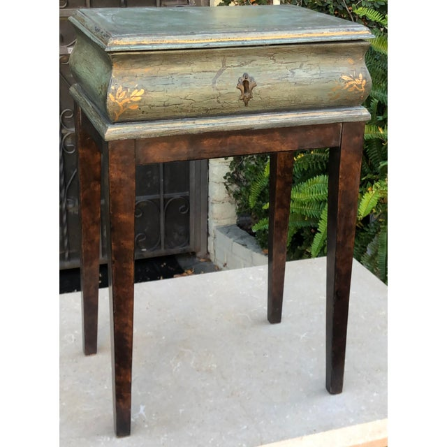 Gray Minton Spidell Box Form Side or End Table For Sale - Image 8 of 8