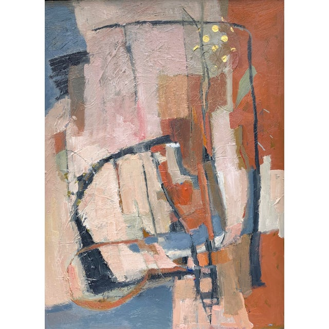 "Abstract Collage ""Meander"" by Anne Darby Parker For Sale"
