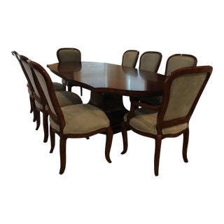 William Switzer Dining Set - 9 Pieces For Sale