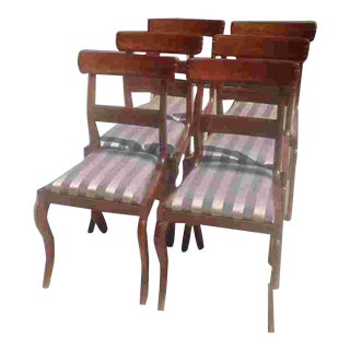 C.1835 Signed Boston Chairs For Sale