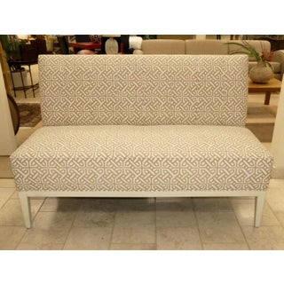 Hickory Chair Upholstered Dining Bench . Banquette . Settee . Loveseat Preview