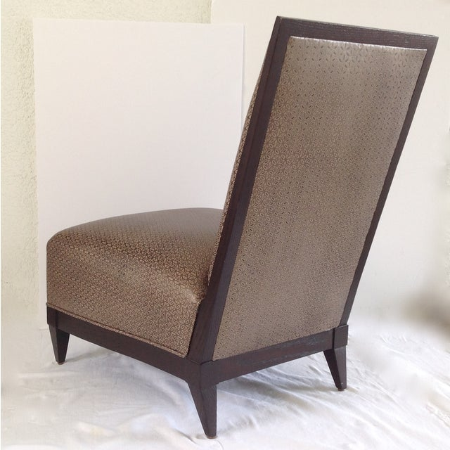 Donghia Panama Occasional Chairs - A Pair For Sale - Image 10 of 11