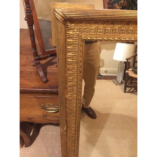 19th Century French Gold Gilt Mirror For Sale - Image 10 of 12