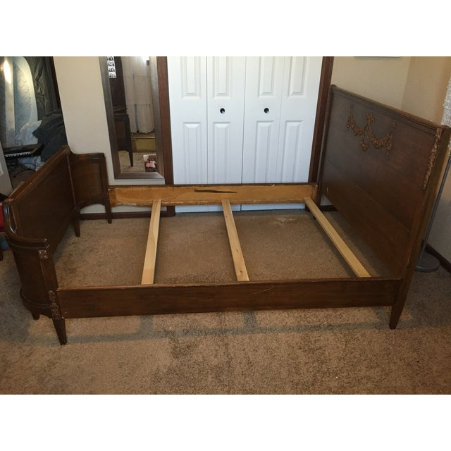 Sligh Vintage Sleigh Full Bed Frame - Image 3 of 11