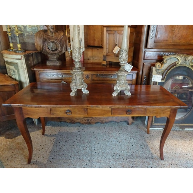 19th Century French Farm Table For Sale - Image 12 of 13