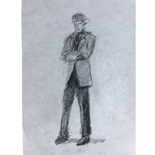 1960s Male Fashion Drawing