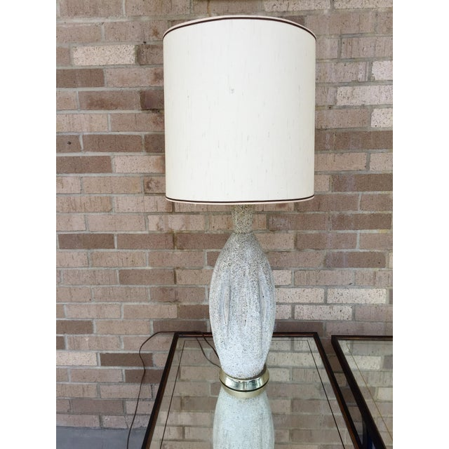 Mid-Century Ceramic Table Lamp - Image 2 of 5
