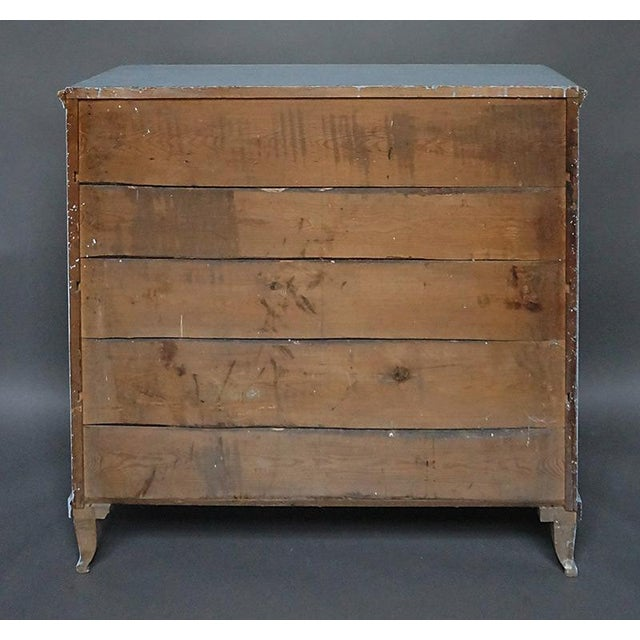 Antique Swedish Chest of Drawers With Classical Swags - Image 8 of 8