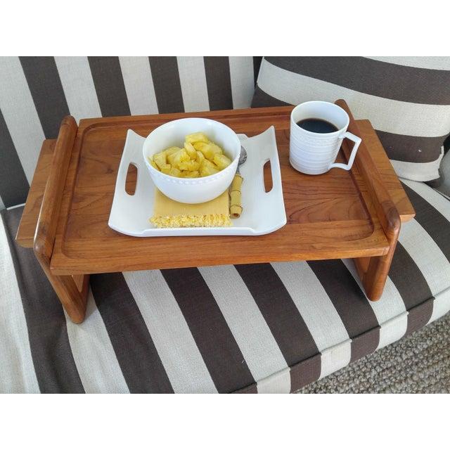 Dansk Teak Breakfast Tray - Image 3 of 4