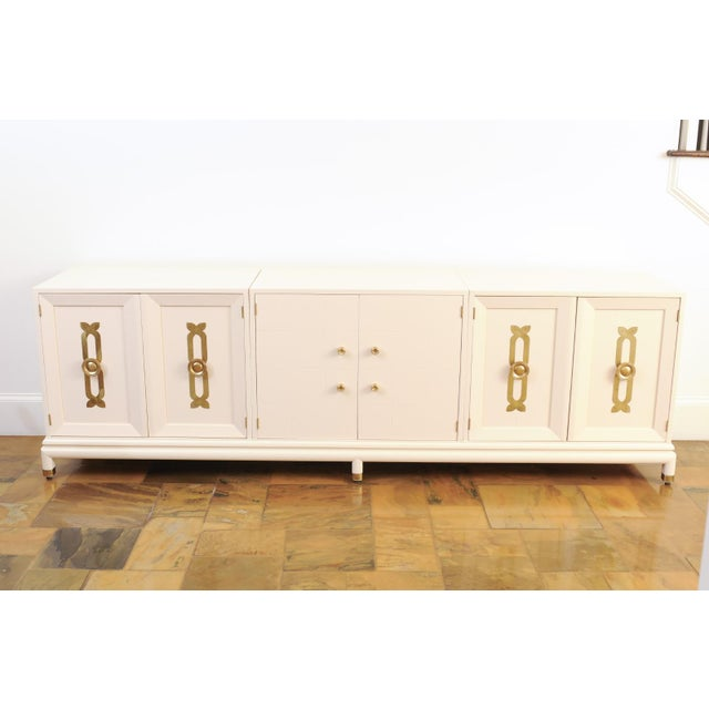 Majestic Restored Credenza by Reno Rutili for Johnson Furniture, circa 1960 For Sale - Image 9 of 13