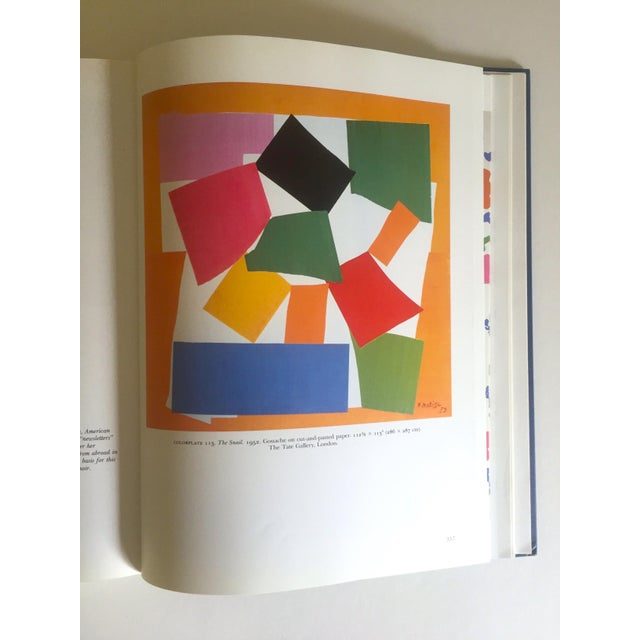 """Boho Chic """" Matisse Retrospective """" Rare 1990 Iconic Oversized Volume Collector's Hardcover Art Book For Sale - Image 3 of 13"""