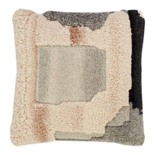 Tom Dixon Abstract Cushion - Grey For Sale