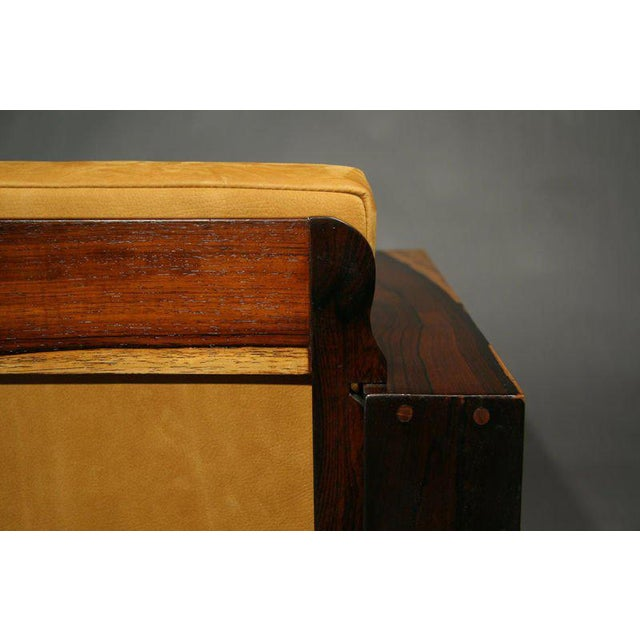 Mid-Century Modern Rosewood Chairs For Sale - Image 10 of 11