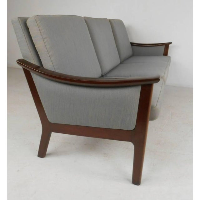 Mid-century Ole Wanscher Style Living Room Suite For Sale In New York - Image 6 of 10