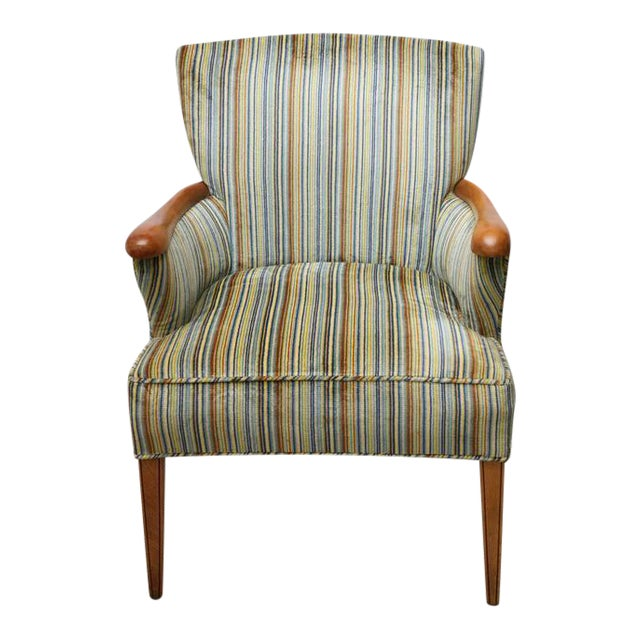 Heywood Wakefield Upholstered Chair, 1960s, USA For Sale