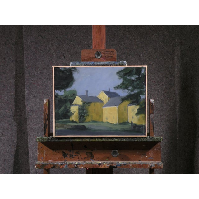 Original Painting of the Back of a Country Store - Image 2 of 3