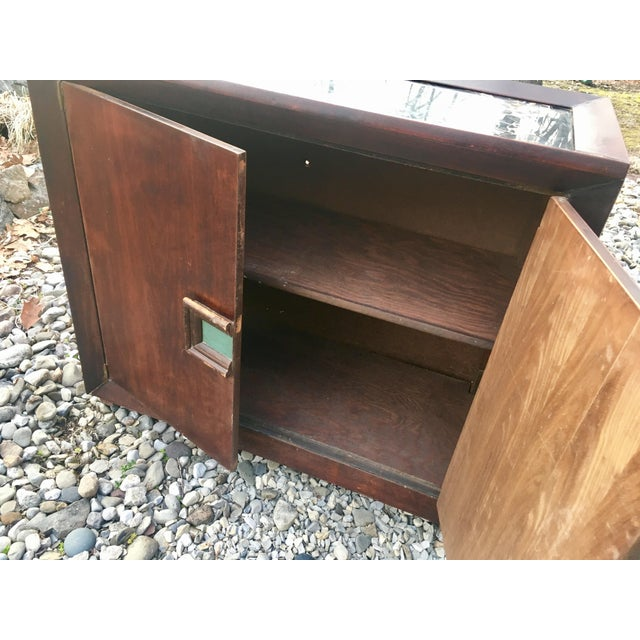 50's Marble Top Bar Cabinet - Image 10 of 11