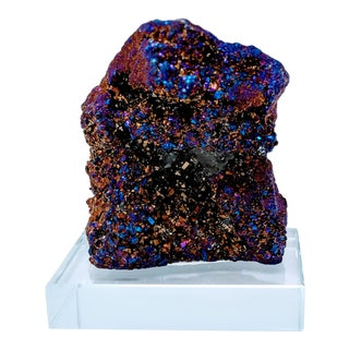 Titanium Rainbow Quartz With Crystal Base