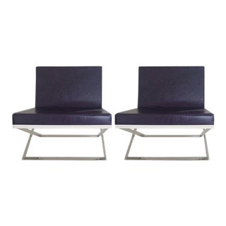 Louis Kazan Kalup Occasional Chairs - a Pair For Sale