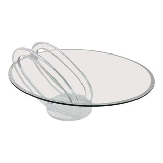 Mikhail Loznikov Lucite Coffee Table For Sale