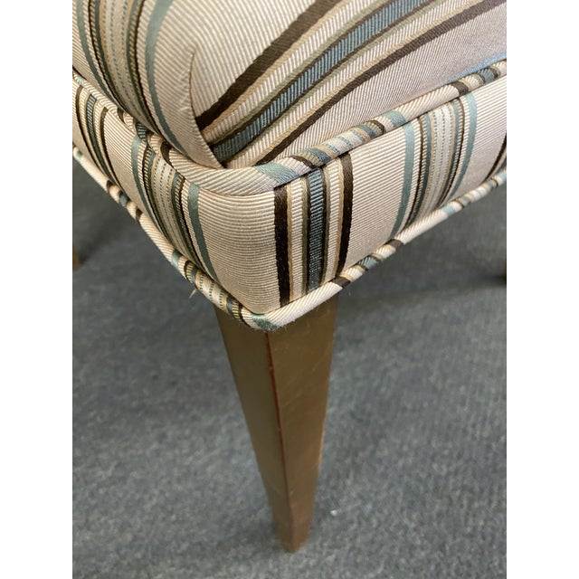 Traditional Late 20th Century Custom Design Side Chairs - a Pair For Sale - Image 3 of 12