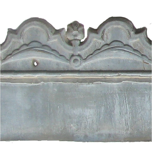 Late 19th Century 19th C. French Zinc Architectural Decoration, Pair. For Sale - Image 5 of 6