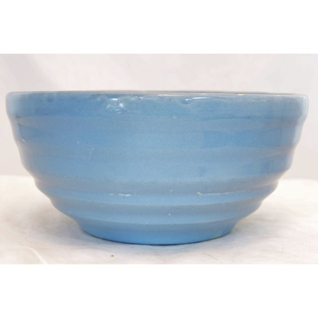 Rustic Blue Beehive Bowl - Image 3 of 7