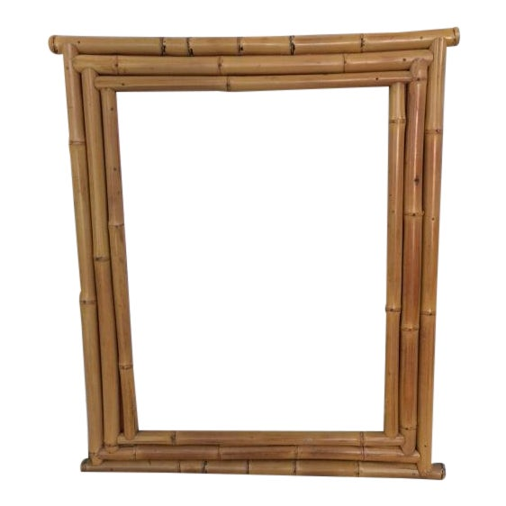 Bamboo Picture or Mirror Frame - Image 1 of 4