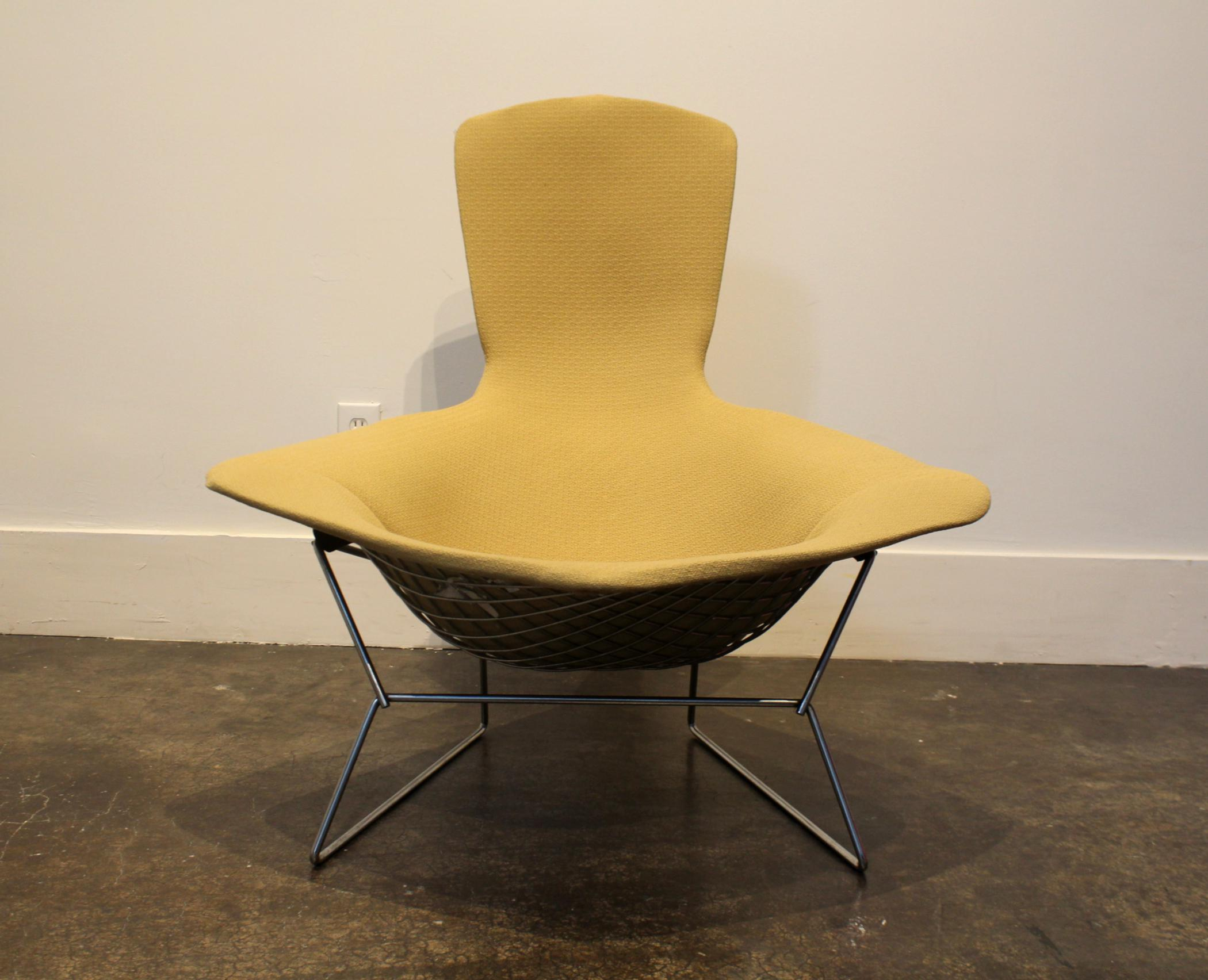 2000s Bird Chair and Ottoman by Harry Bertoia for Knoll For Sale - Image 5 of  sc 1 st  Chairish & Bird Chair and Ottoman by Harry Bertoia for Knoll | Chairish