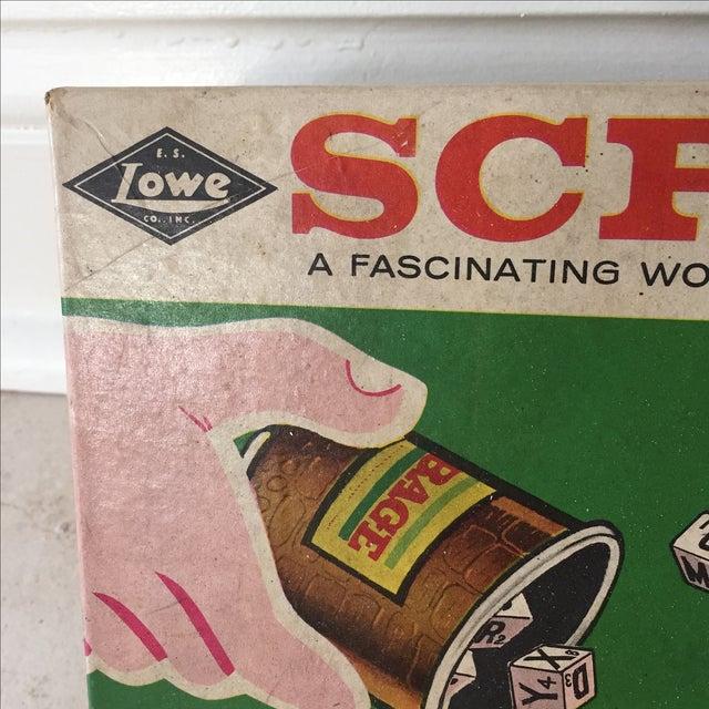 1963 Original Scribbage Word Game For Sale - Image 4 of 9