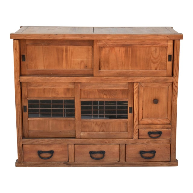 Antique Japanese Choba Tansu For Sale