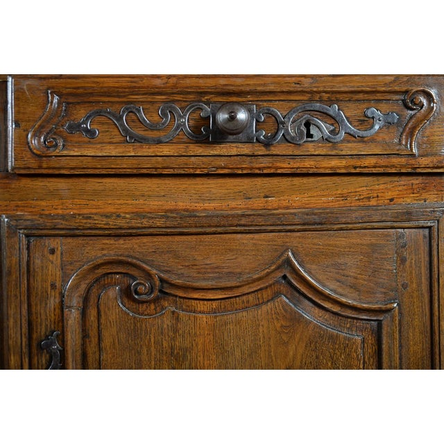 18th-Century Louis XV French Provincial Buffet - Image 9 of 10