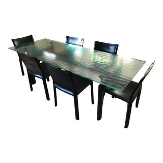 Le Corbusier for Cassina Dining Set - 7 Pieces For Sale