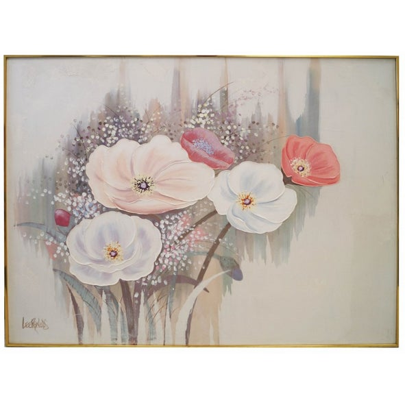 Flowers Painting by Lee Reynolds Burr For Sale