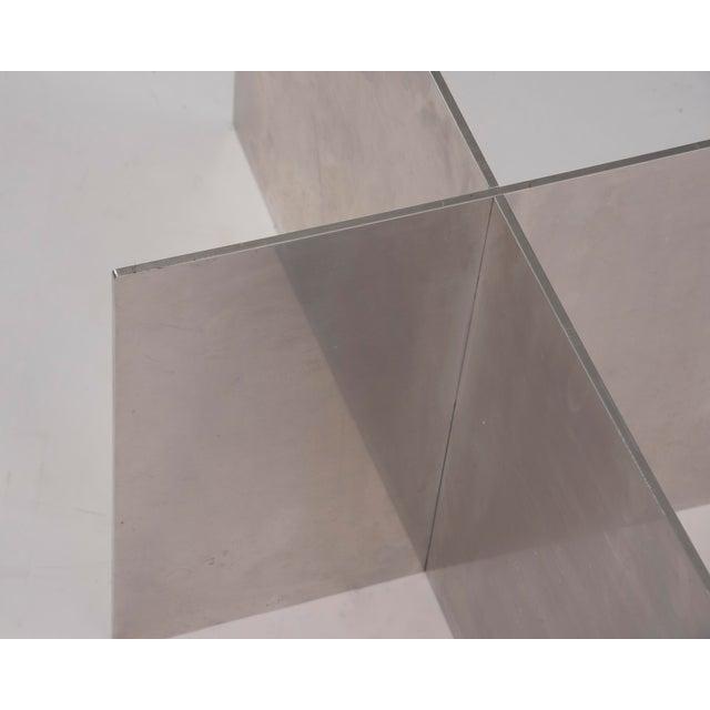 Paul Mayen Habitat Aluminum Coffee Table For Sale - Image 9 of 12