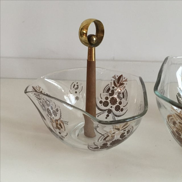 Boho Chic Georges Briard Serving Bowls - A Pair For Sale - Image 3 of 9