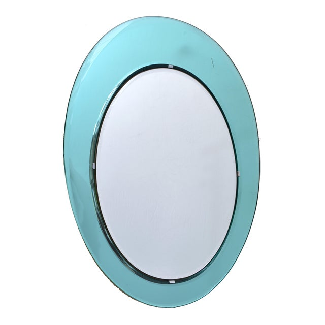 Fontana Arte Wall Mirror attrib. to Max Ingrand For Sale In Miami - Image 6 of 6