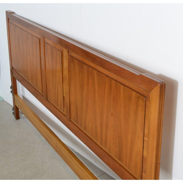 wholesale dealer e517e ea9c7 1960s Vintage John Widdicomb King Size Cherry Headboard