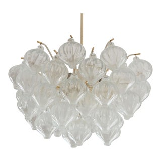 Vintage Tulipan chandelier by JT Kalmar For Sale